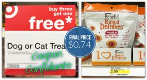 Beneful Baked Delights Dog Snacks, Only $0.74 at Target!