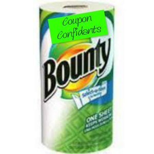 Bounty paper towel roll only .38 at Target