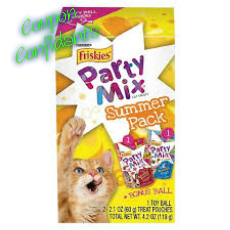 ONLY .04 at Target – Friskies cat Summertime Party Pack