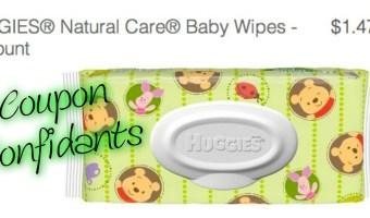 Free Huggies Wipes at Target!