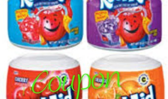 Country Time Lemonade & Kool Aid Drink mixes just .45¢ each @ Kroger