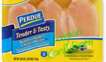 Perdue boneless, skinless chicken breast $1.99lb at Kroger & coupons too!!!