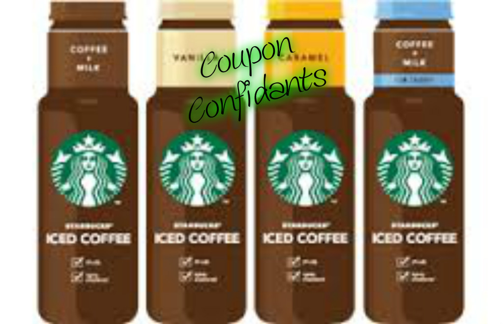 Free Starbucks Iced Coffee at Walgreens! or Money Maker at Target!