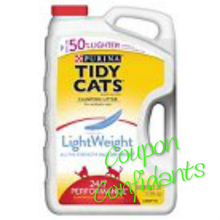 GREAT Tidy Cats Liter deal at Target