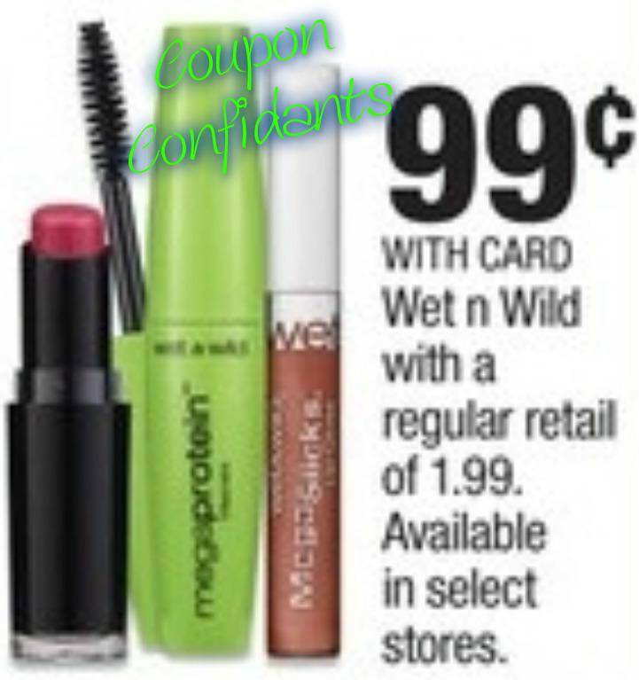 Free Wet n Wild make up at CVS this week!