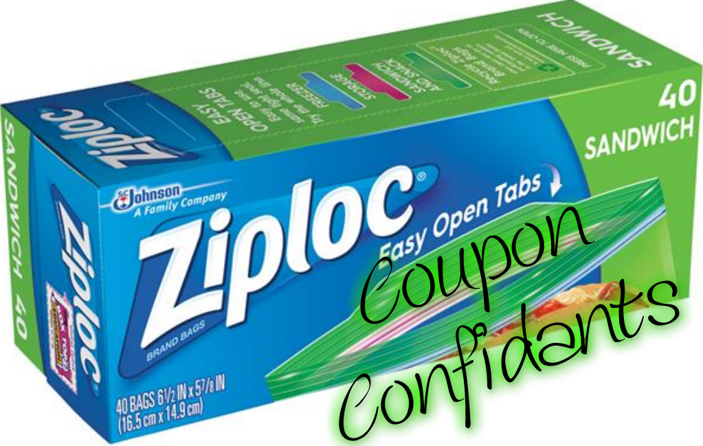 HOT DEAL!!!  Ziploc bags only .48 at Target