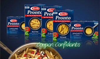 HOT New Barilla Pasta Pronto Printable!