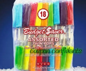 FREE Budget Saver Assorted Twin Pops at Walmart!