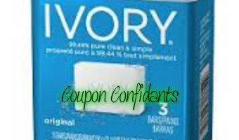 Ivory Soap 3pk only only .47 at Walmart!!!