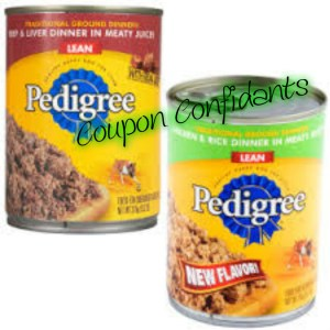 Hot stackable coupons on Pedigree dog food at Target!