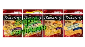 Great deal on Sargento Cheese at Publix only $1.64 each