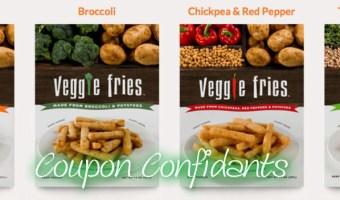 HOT new Printable~Veggie Fries!