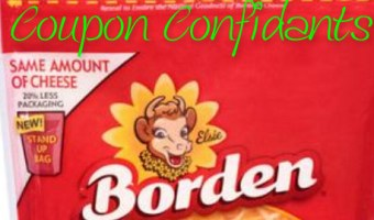Free Borden cheese at Walmart!