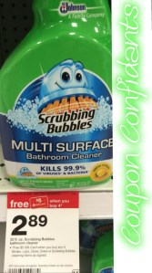 .99 for Scrubbing Bubbles at Target!