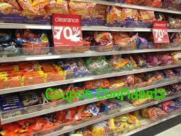 Clearance Halloween shopping? Check out all the available candy coupons to stack!