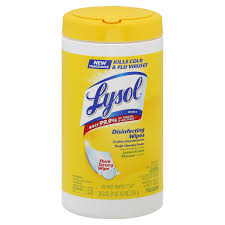 $1.90 for Lysol Wipes 80 ct at Bi-lo! YES!!