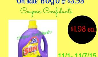 Sun Laundry Detergent $1.98 @ Dollar General