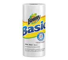 Bounty Basic Paper Towels .50 a roll at Walmart and Dollar Tree!