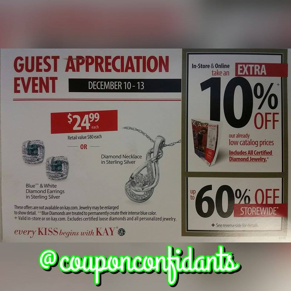 Kay Jewelers Customer Appreciation Event ⋆ Coupon Confidants