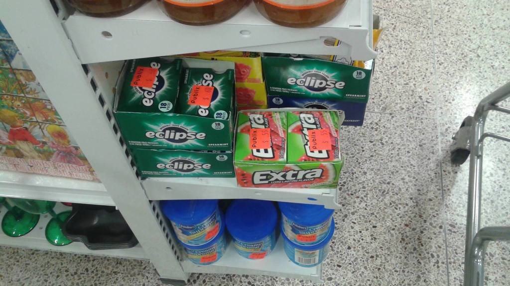 Eclipse gum ONLY .10¢ each @ Publix on clearance & after coupons!