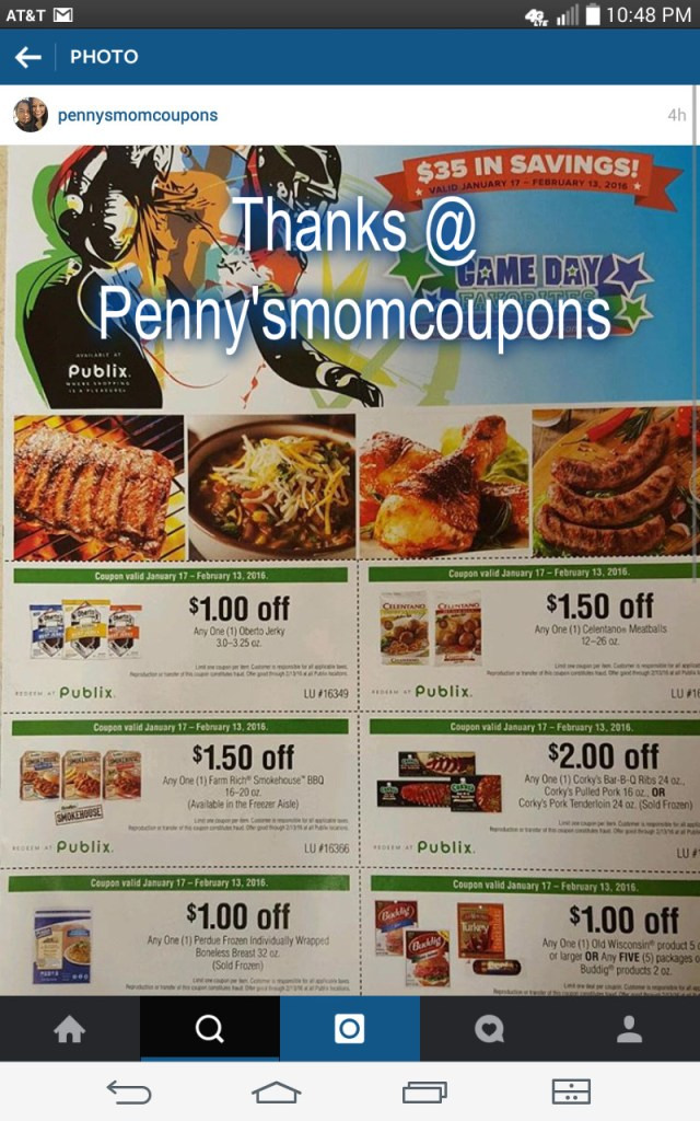 New Publix Coupon Flyer coming out 1/17/16!!