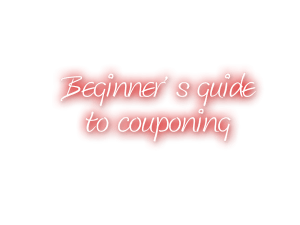 guide to couponing