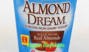 FREE Almond Dream Yogurt at Ingles!!