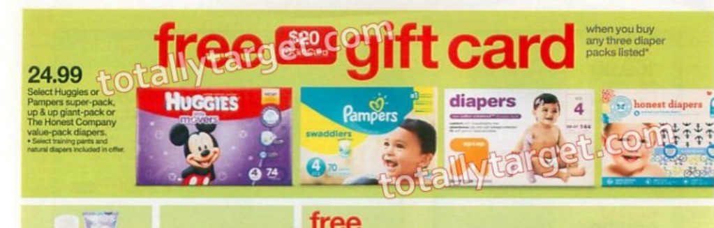 47aaa949e6760 Starting 3 6 at Target when you buy 3 select diapers or training pants