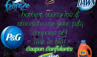 Top deals you can do with your P&G insert! ~ Check out these awesome deals!