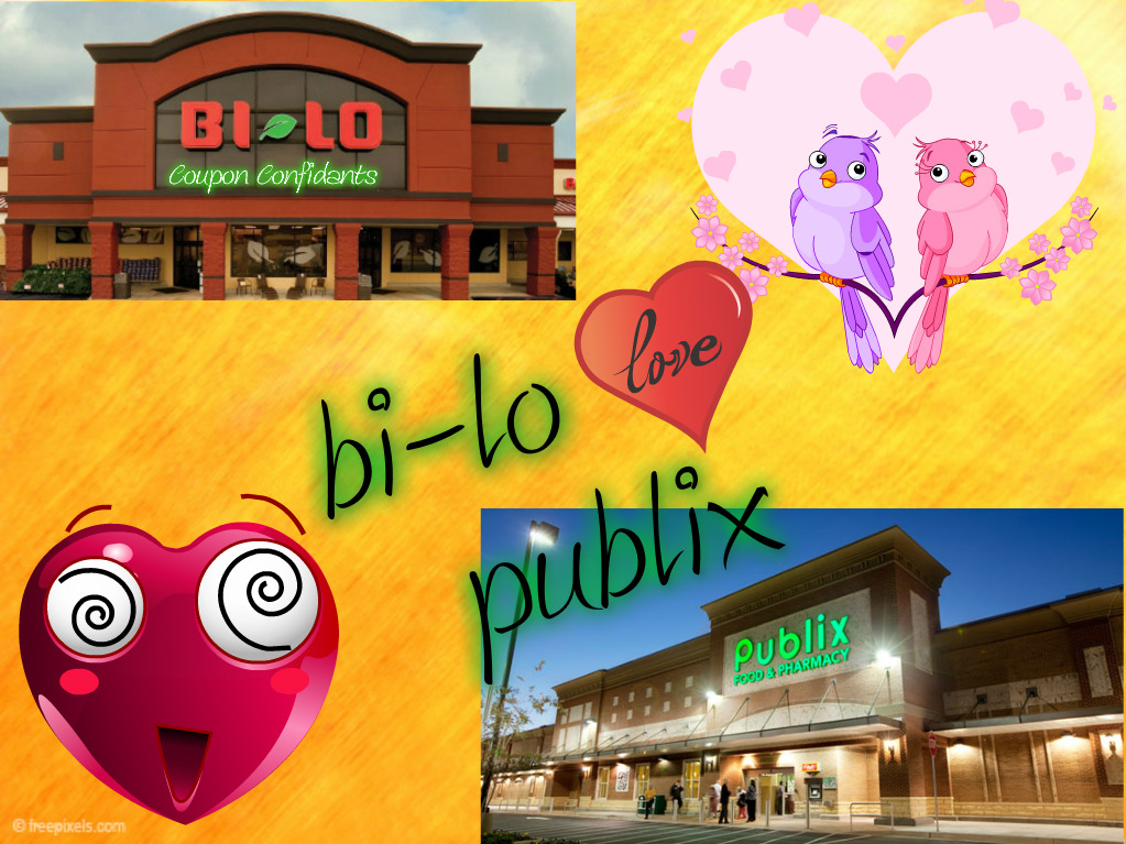 Brand NEW Bi-lo match ups with all new Publix Green Flyer!