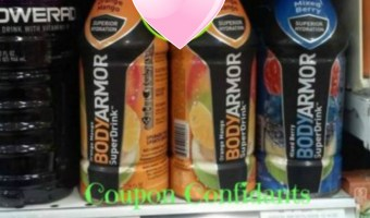 BodyArmor Drinks at Publix as low as $0.44!!!