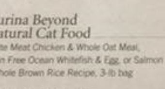 FREE Purina Beyond Cat Food at Publix!!