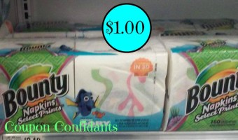 ~ Hot deal! ~ Bounty napkins as low as $.99¢ @ Publix