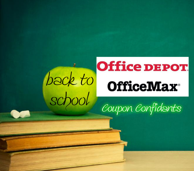 Office Max/Office Depot Back to School 8/13
