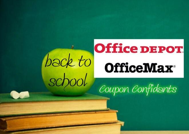 Office Max/Office Depot – 07/22 – 07/28