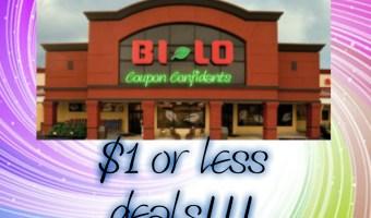 Bi-lo $1 or less deals!! 7/6 – 7/12