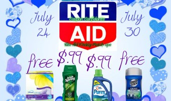 Rite Aid Best Deals Jul 24 – 30