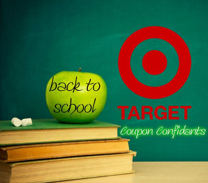 Target Back to School Deals Aug 20 - 26
