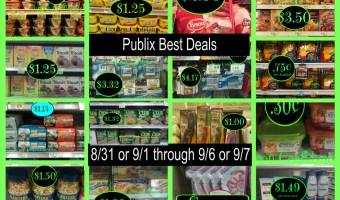 PUBLIX BEST DEALS  8/31 or 9/1 through 9/6 or 9/7