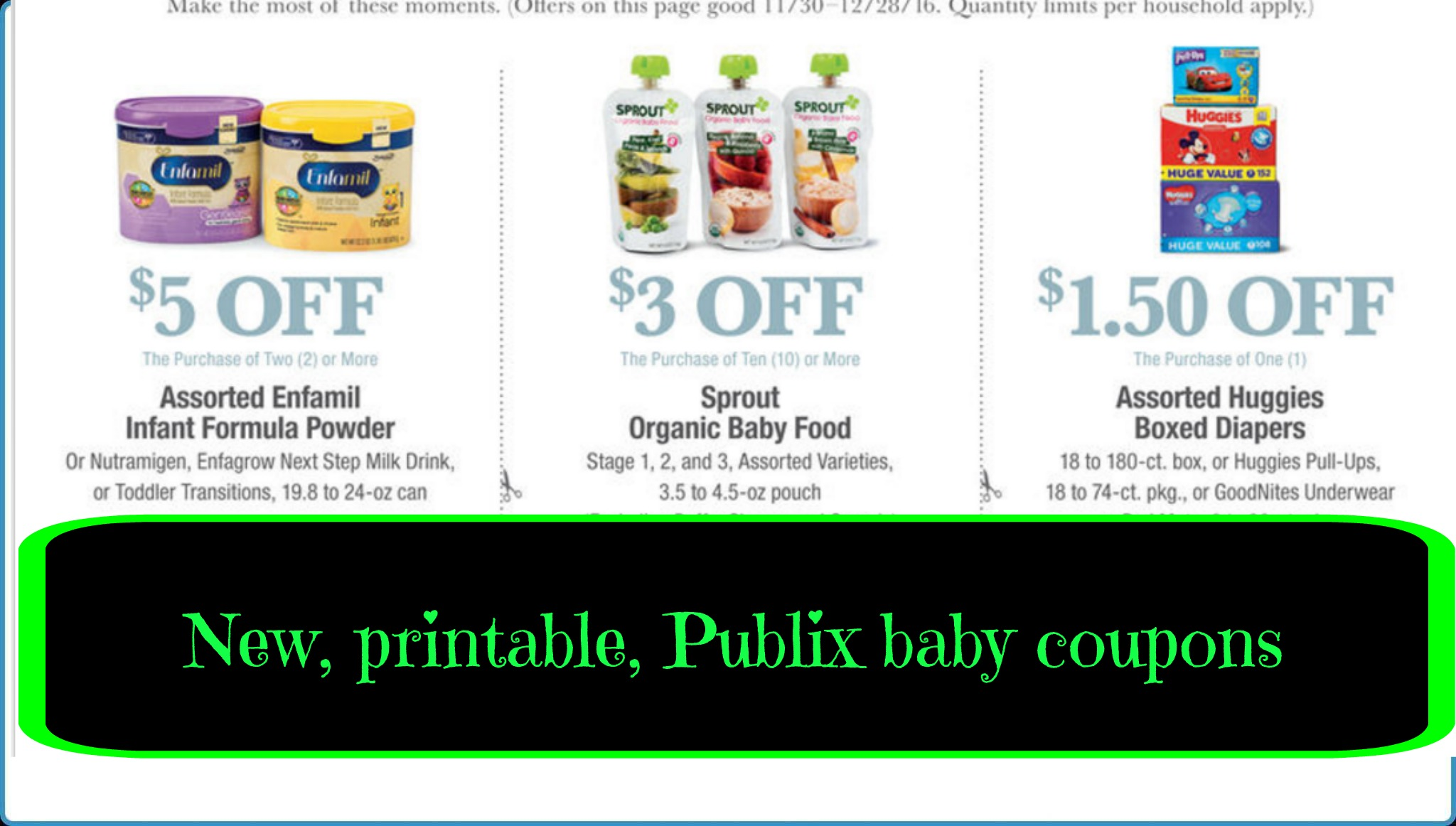baby coupon books by mail