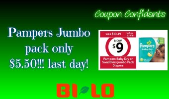 Last day for cheap diapers at Bi-lo! Hurry