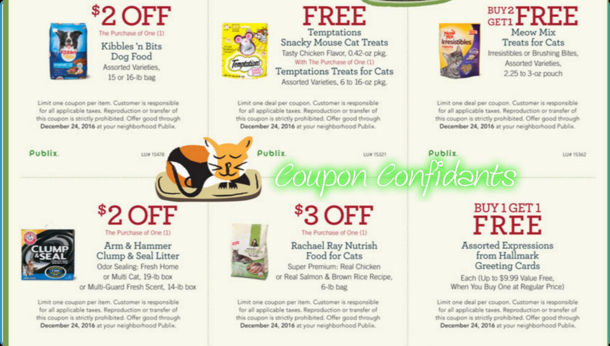 image regarding Hallmark Printable Coupons known as Fresh new Printable Publix Paws coupon codes! ⋆ Coupon Confidants