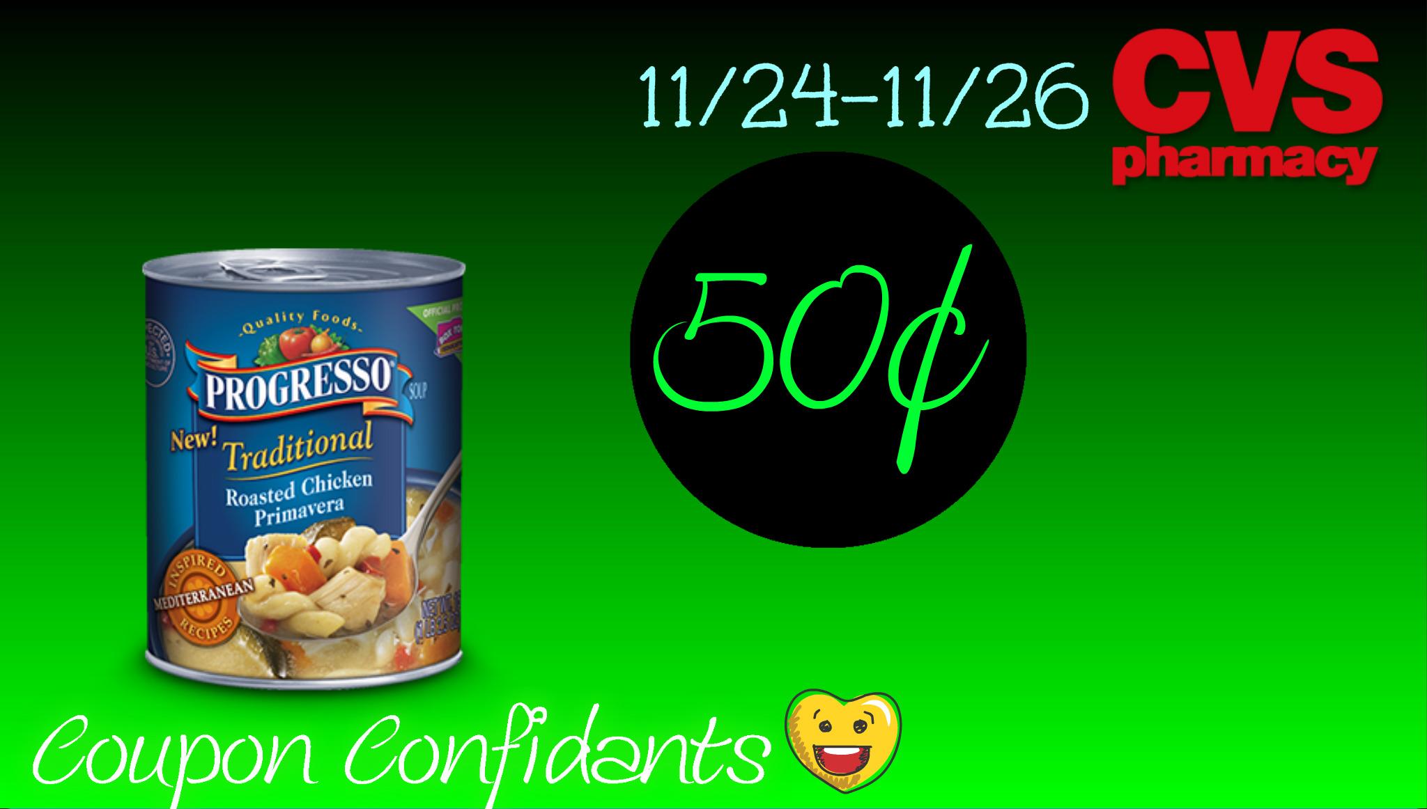 HOT deal for HOT Soup - Progresso Soup at CVS!