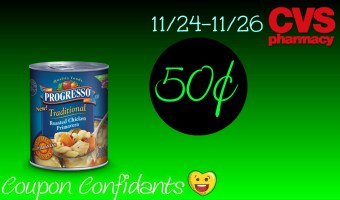 HOT deal for HOT Soup – Progresso Soup at CVS!