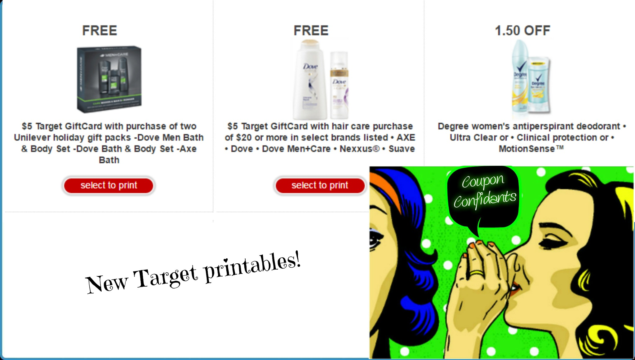 image about Unilever Printable Coupons identify 3 Incredibly hot fresh Emphasis printable discount codes! ⋆ Coupon Confidants