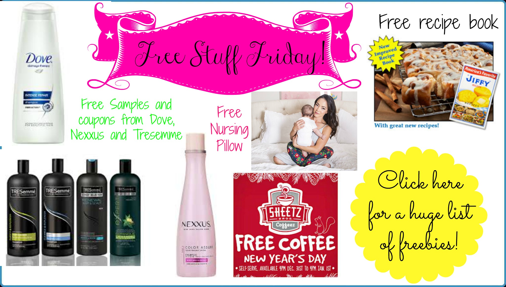 FREE STUFF FRIDAY! TONS of FREE Deals, Samples and more!!!!