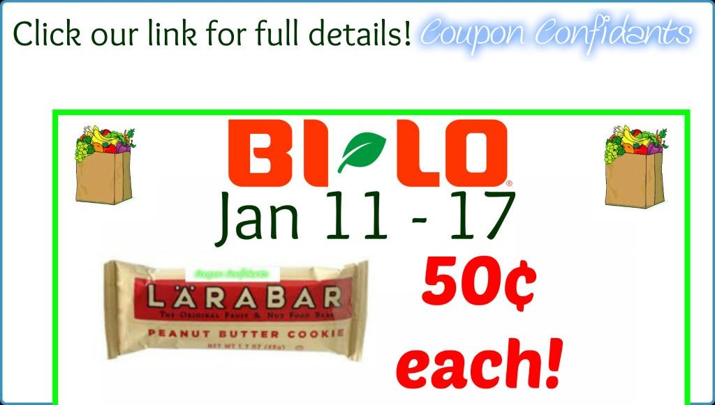Larabar Bars for only $0.50 each!! YESSS!