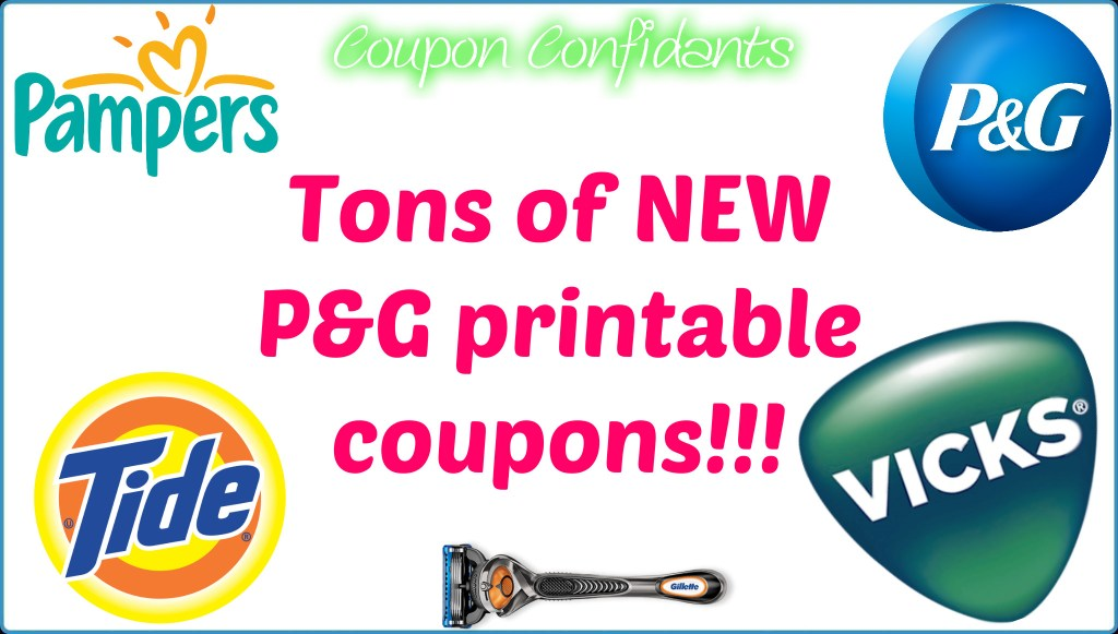 PG Coupons!!