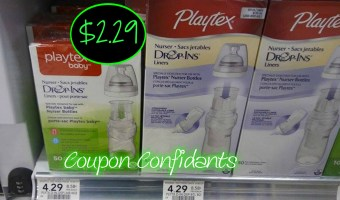 Playtex Drop in Liners at Publix!