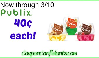 Yoplait Dippers only 40¢ at Publix!